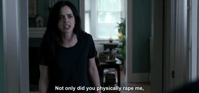 Image result for jessica jones is about rape