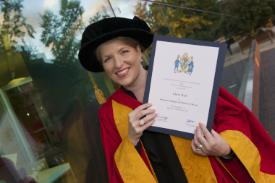Clare Teal - Photo by University of Wolverhampton