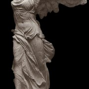 Female sculptures in ancient Greece
