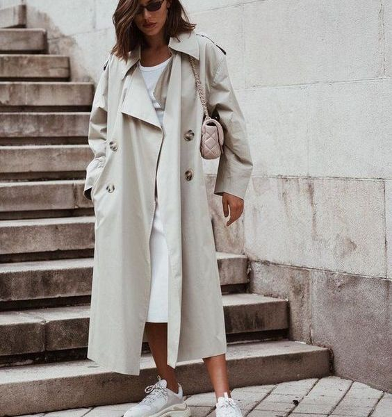dressy trench coat