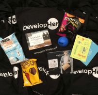 DevelopHer Goody Bags: Thank you to our sponsors
