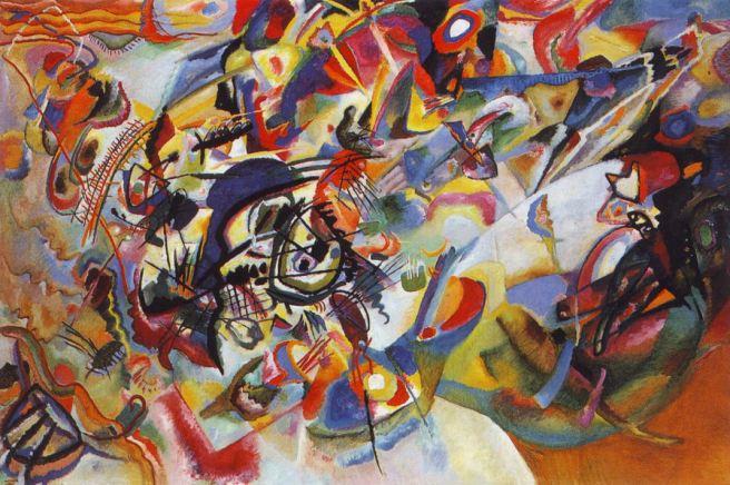 Kandinsky - Composition VII 1913 (Via Wassily Kandinsky.net)