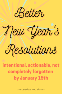 better new year's resolutions