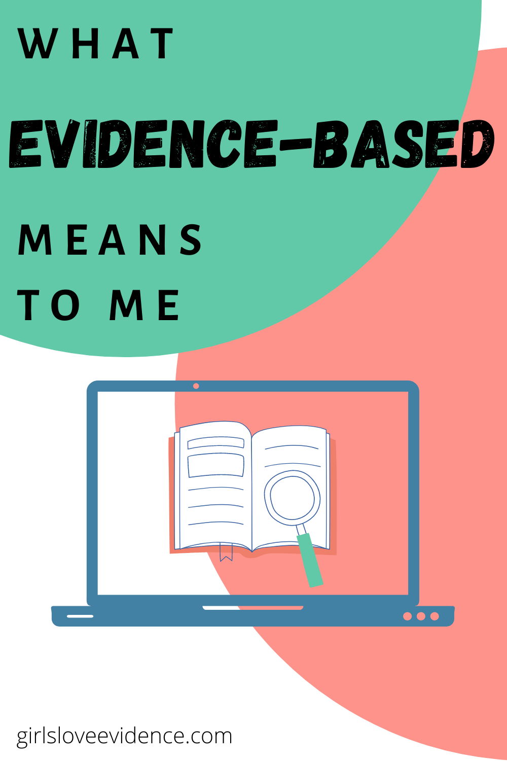 what evidence-based means to me