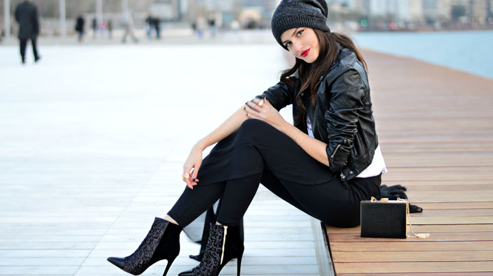 stylish woman