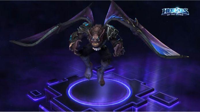 Arthas Conde Carmesim - Forma de Morcego