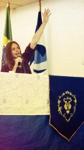 """Liga Brasileira de HeartStone representado pelo """"Arthas Carioca"""""""