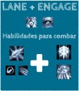 Presença de Lane + ENGAGE