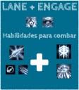 Presença de Lane + ENGAGE