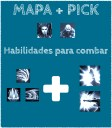Mapa + PICK
