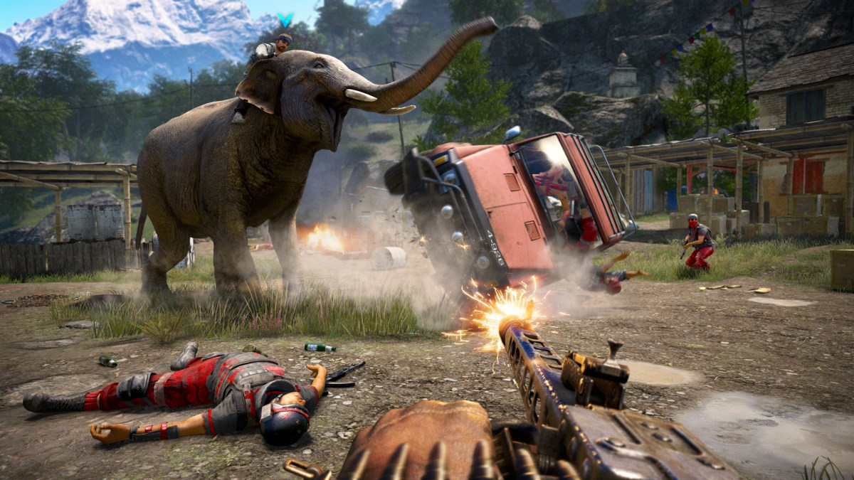 Far Cry 4- Image via Ubisoft.