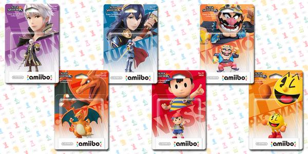 Super Smash Bros. Amiibos (via Nintendo)
