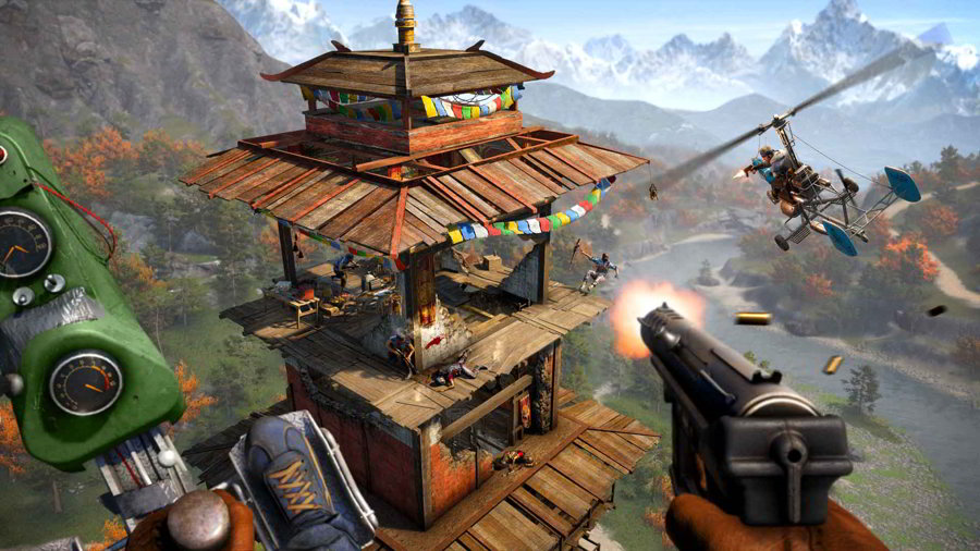 Far Cry 4 Outpost - Image by Gamersheroes