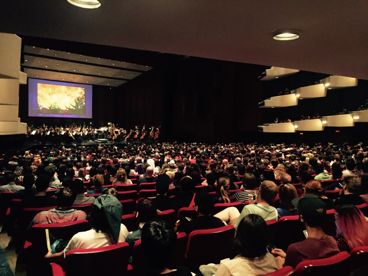 Crowd at LoZ Symphony - Image via Salisha Mohammed