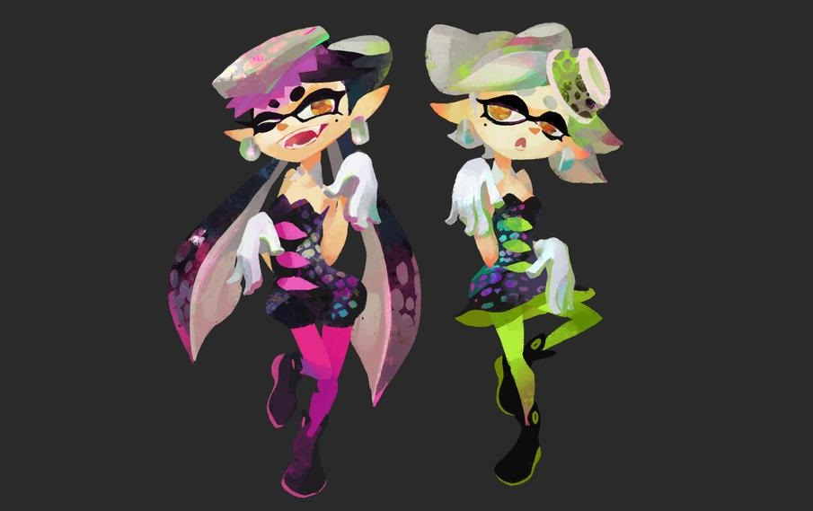 Squid Sisters (via Splatoon Wiki)