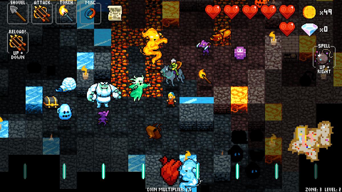 Crypt of the Necrodancer: Zone 3