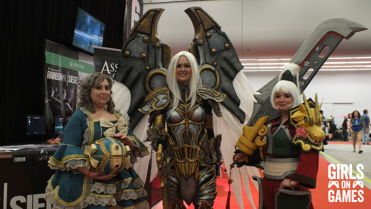 Cosplay at Montreal Comiccon 2015. Photo © Simon Marcoux / Girls on Games