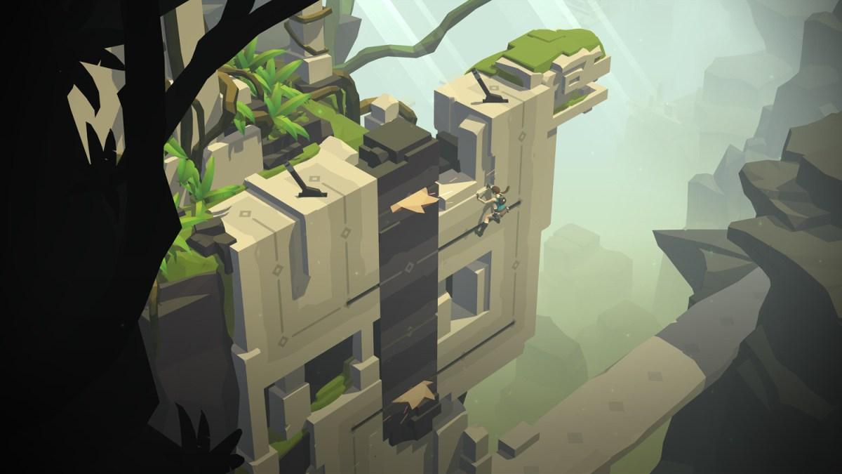 Vertical Puzzles - Lara Croft GO screenshot - Square Enix