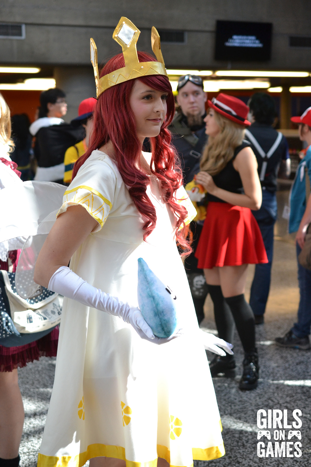 Aurora (Child of Light) cosplay at Otakuthon 2015