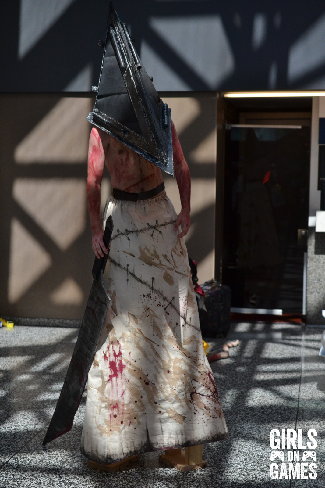 Pyramid Head (Silent Hill) cosplay at Otakuthon 2015.