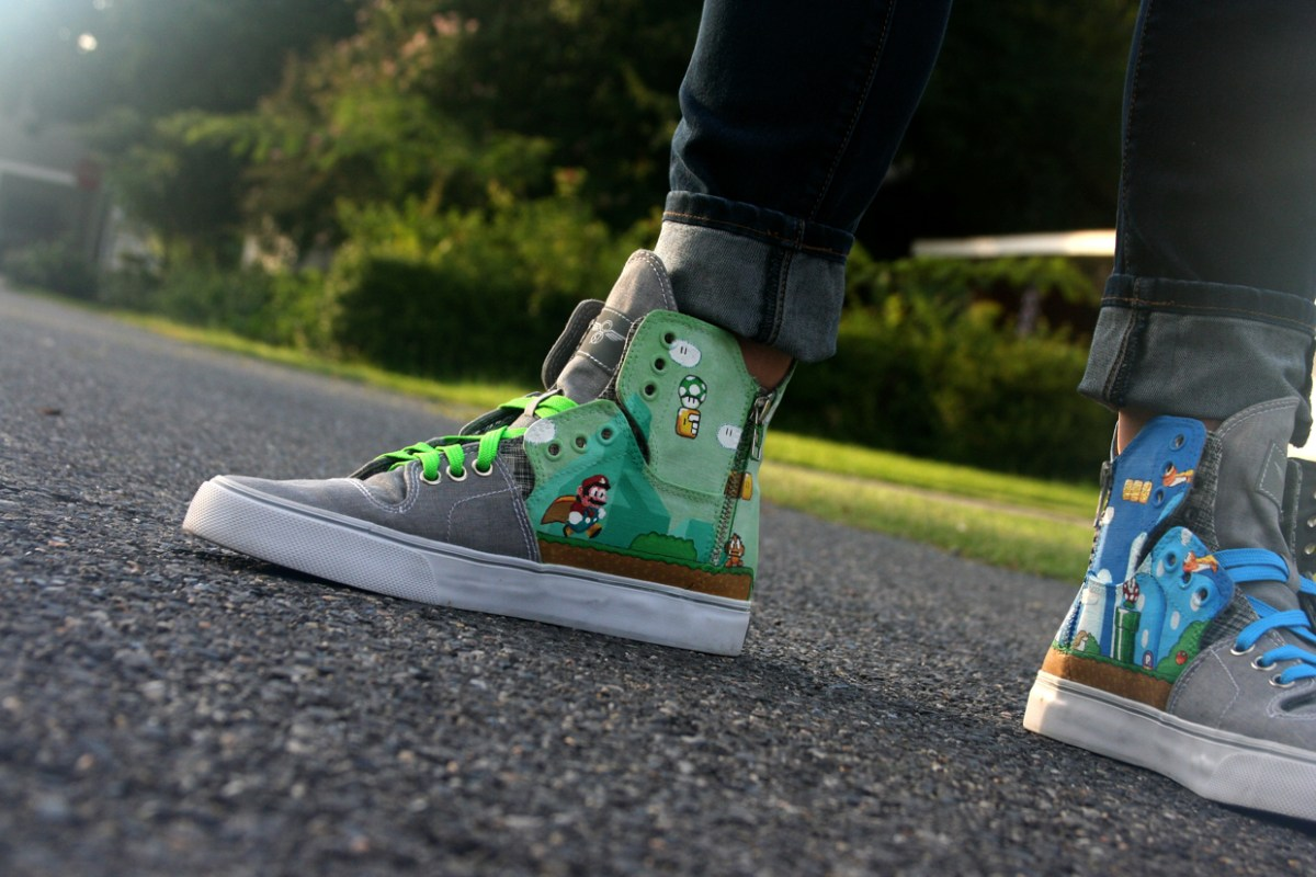 NES.talgia Custom Sneakers by Benjamin Bush
