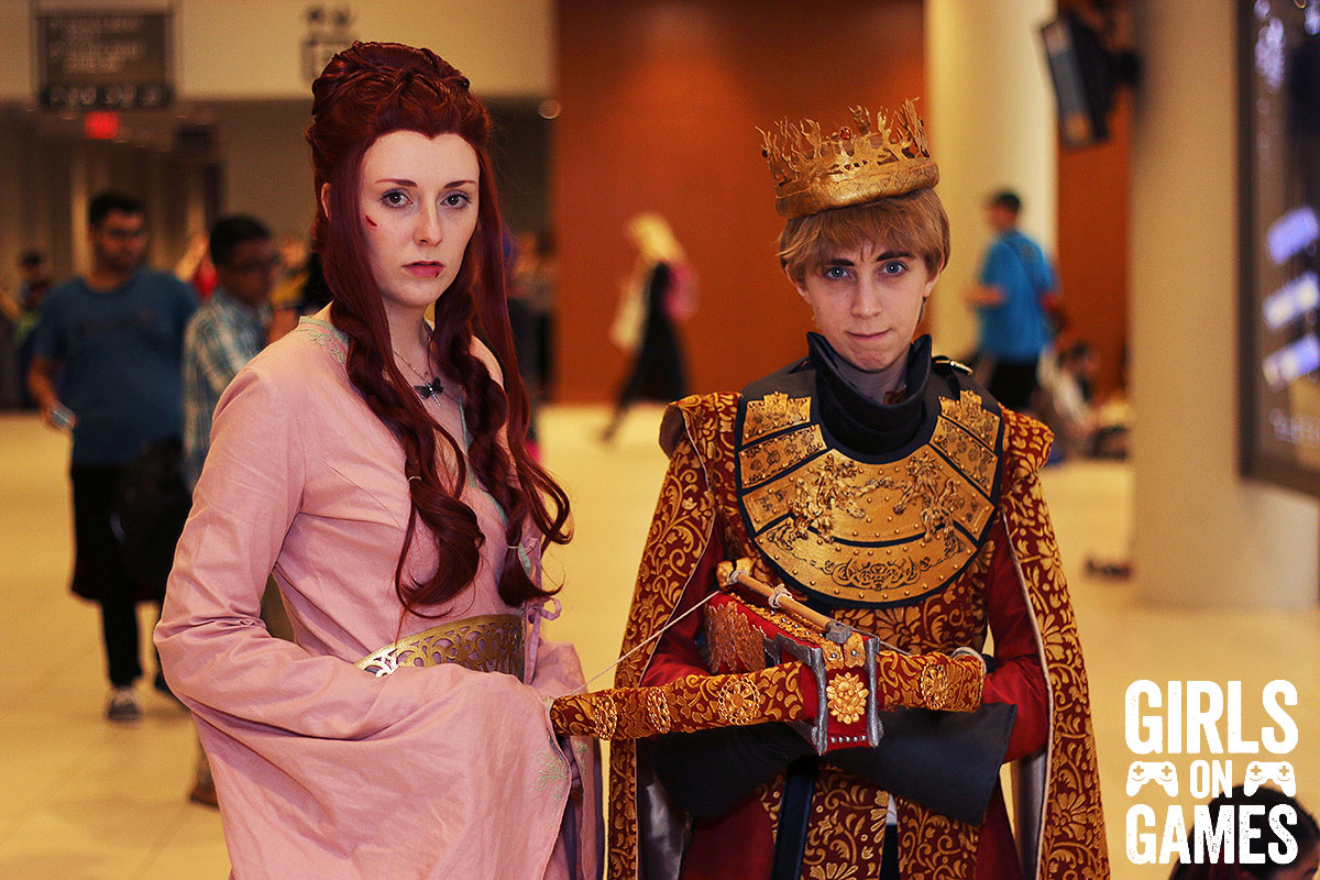 Sansa Stark and Joffery Baratheon (Game of Thrones) cosplay