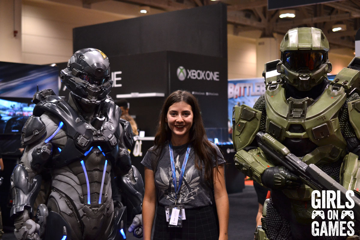 Halo cosplay at Fan Expo 2015