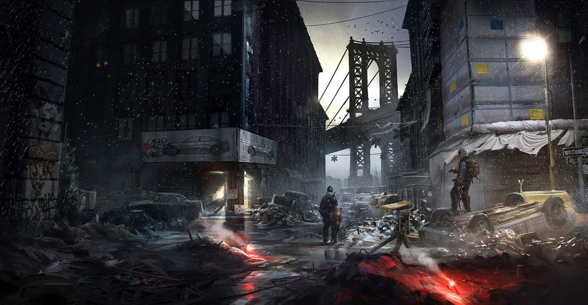 Tom Clancy's The Division - Concept Art - from Ubisoft