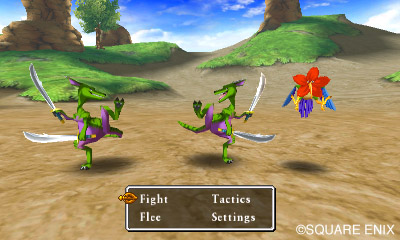 Dragon Quest VII Combat
