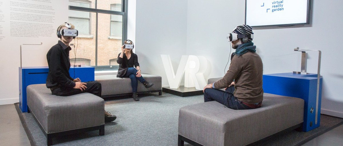 VR Garden at Phi Centre