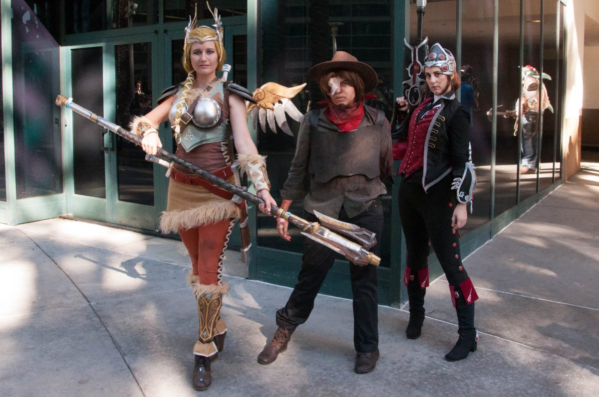 OW Mercy, McCree and Widowmaker