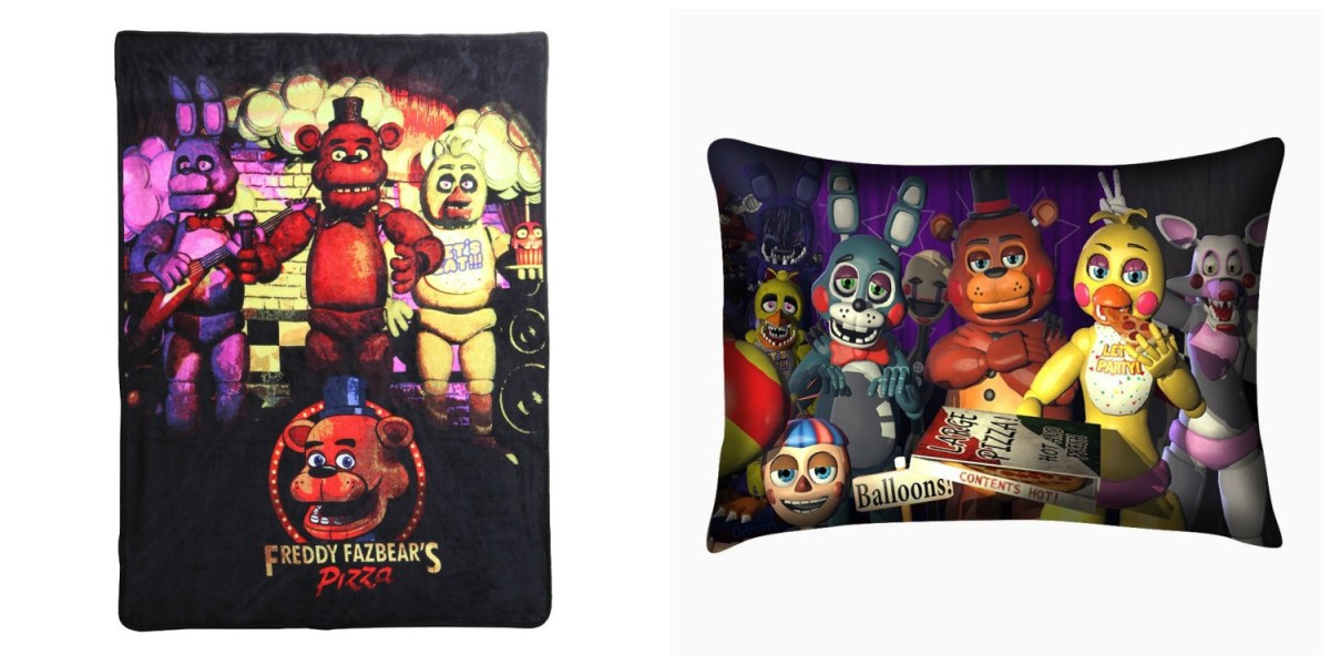 Freddy Blanket & Pillow