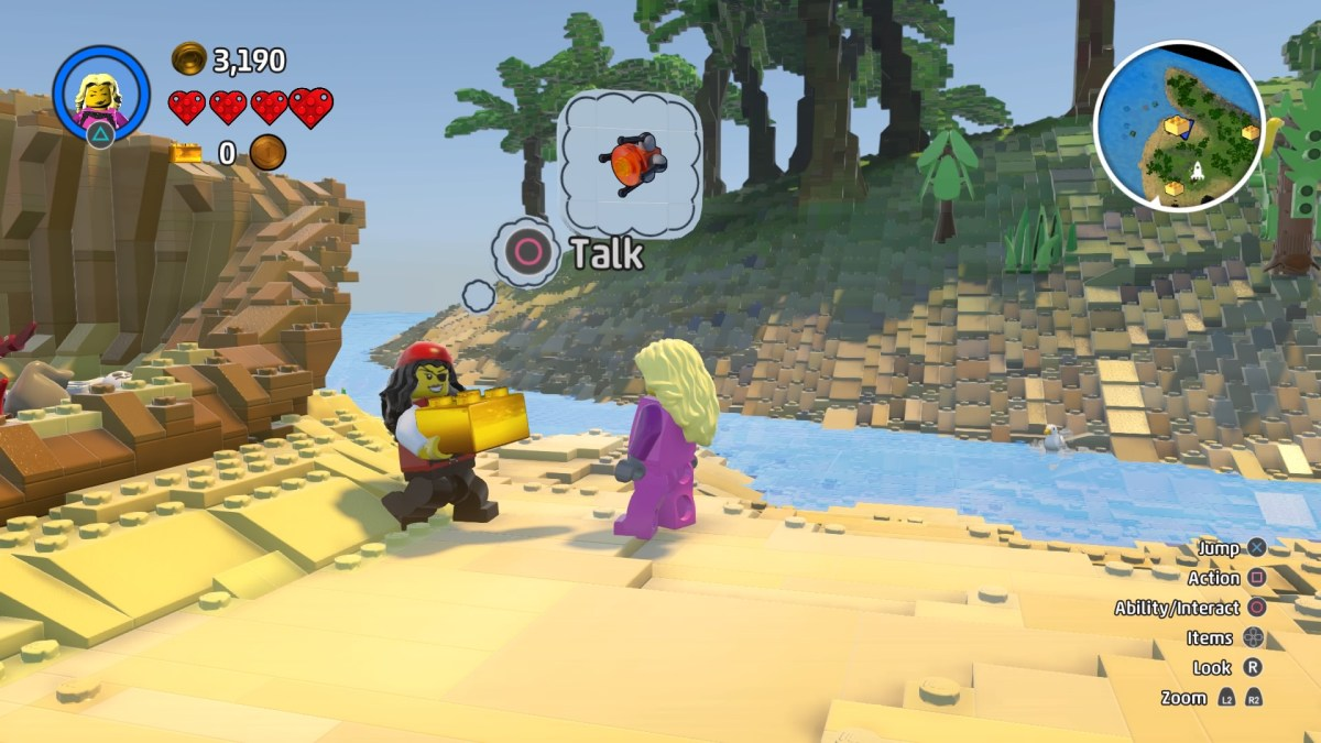 Discovery Tool & Gold Brick- Lego Worlds © Stephanie Lyell - PS4 Screen Capture