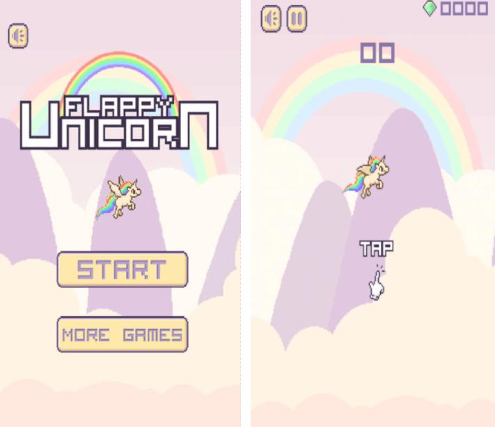 Flappy Super Unicorn