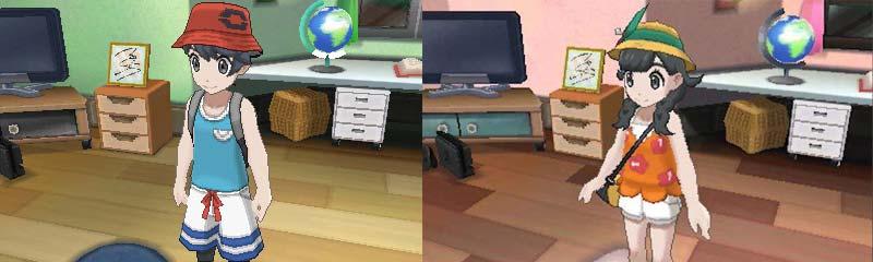 Pokémon Ultra Sun/Moon Trainers (via Nintendo)