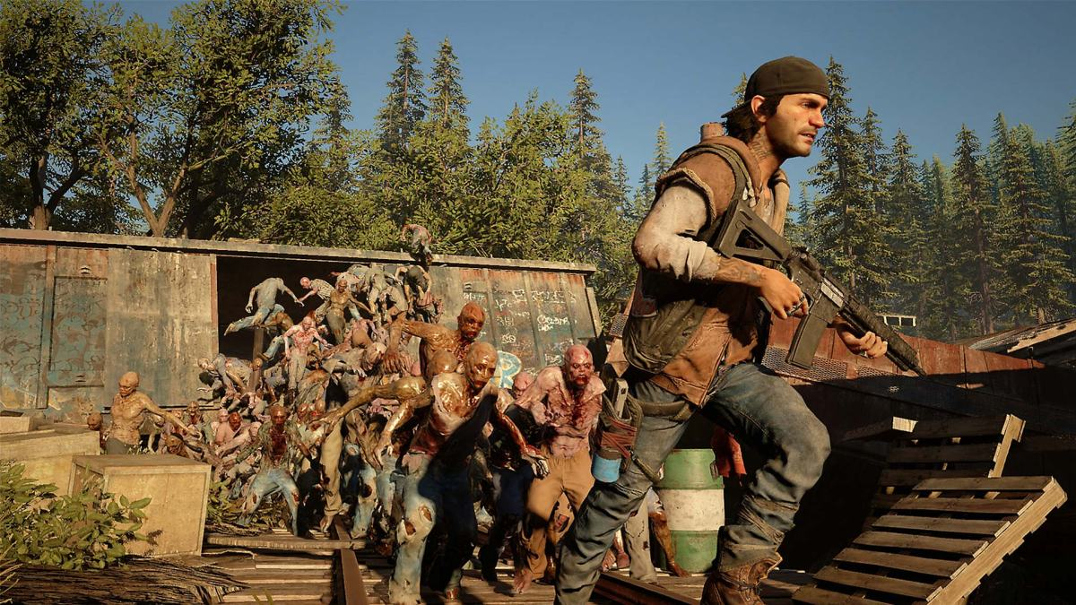 Days Gone - Deacon escaping Freakers