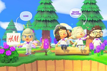 Visiting Looop Isle with Maisie Williams in Animal Crossing New Horizons
