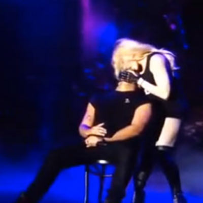 Madonna Makes Out with Drake at Coachella