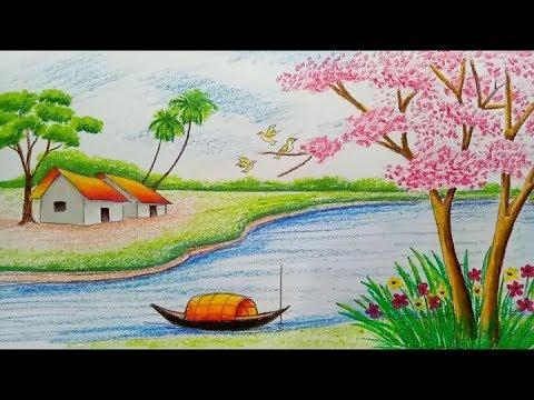 شلل لون الزهر منتصر رسم حول الطبيعة Virelaine Org