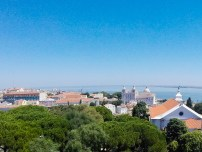 View of Lisbon Neighborhood