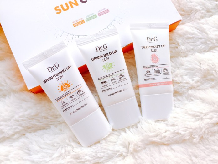 Dr.G, SunCode, 防曬, SaSaHK, uv, lovecath, catherine, skincare, beauty