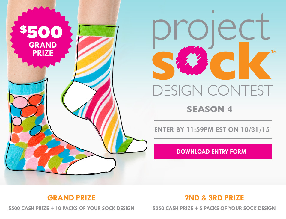 FASHIONISTAS: Enter the Little Miss Matched Sock Design Contest and #WIN