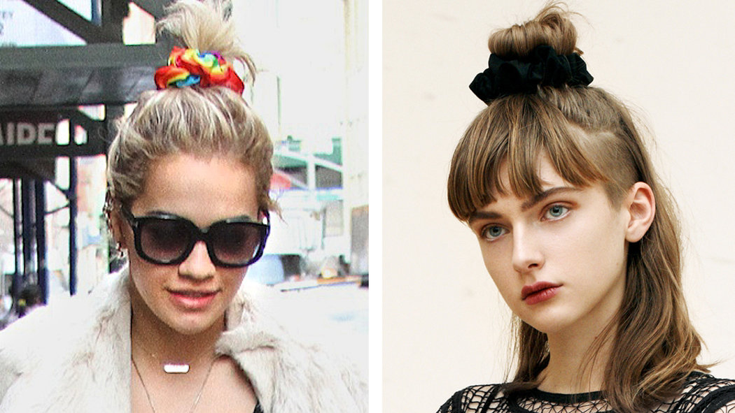 Scrunchie Hair Styles: TREND: Scrunchies Are Back