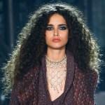 natural curly hair, natural hair trends, runway styles