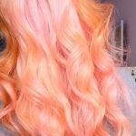 blorange hair dye styles, hair dye color ideas, hair color trends, blonde orange