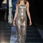 Chainmail dress, evening gown, runway, trends