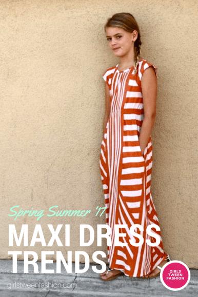 teen tween MAXI DRESS