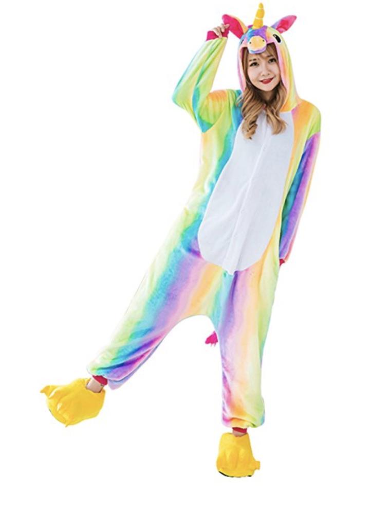 Cute Unicorn Pajama Onesie