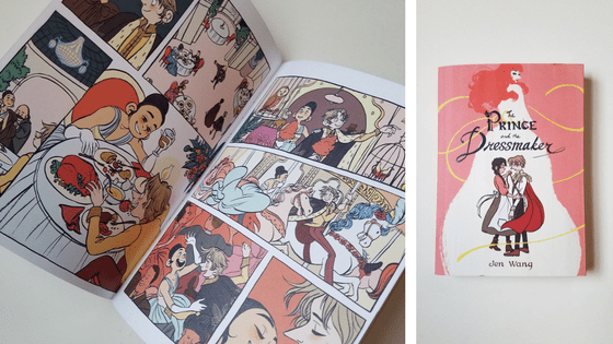 From Jen Wang, a Graphic Novel About a Prince and a Dressmaker [Book Review]
