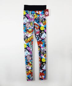 Pop Graffiti leggings by Berry Jane